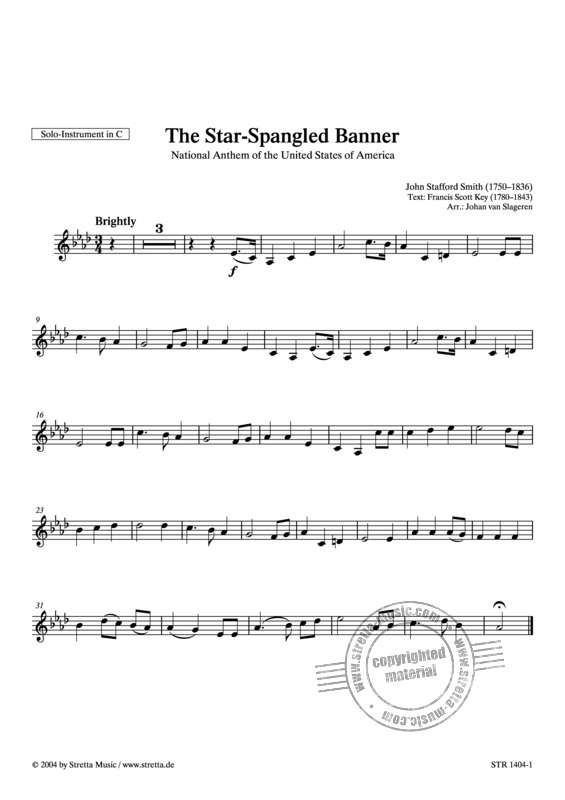 John Stafford Smith: The Star-Spangled Banner (1)
