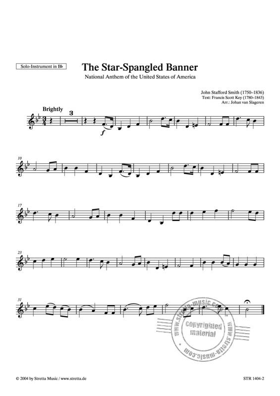 John Stafford Smith: The Star-Spangled Banner (2)