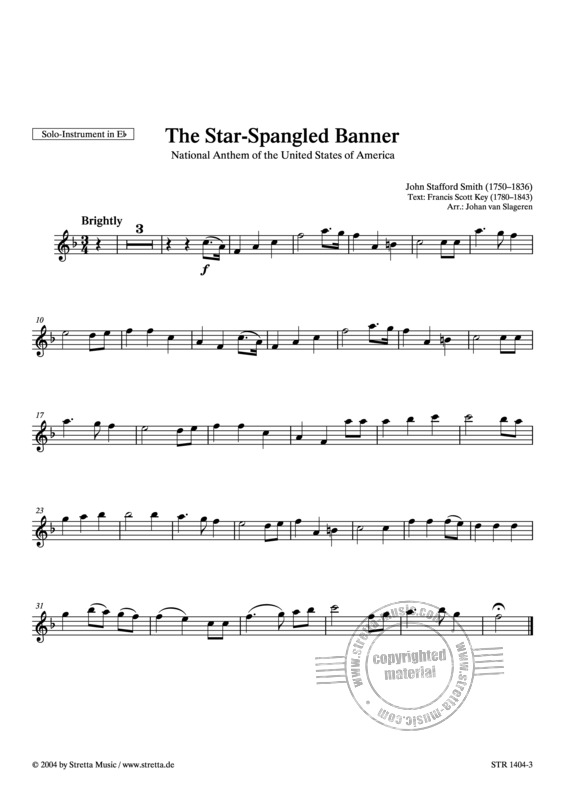 John Stafford Smith: The Star-Spangled Banner (3)
