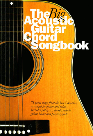 Big Acoustic Guitar Chord Songbook LC