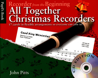John Pitts: Recorder From The Beginning - All Together Christmas Recorders (Book/CD)