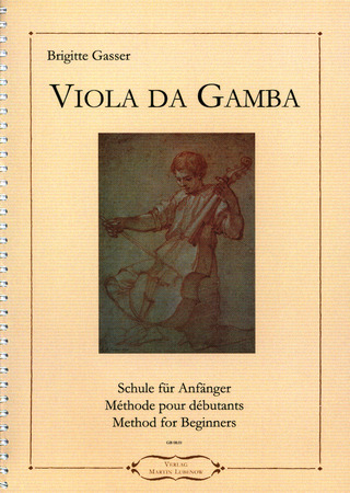 Brigitte Gasser: Viola da Gamba – Method for Beginners
