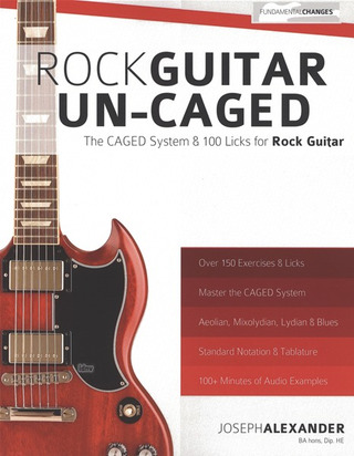 Joseph Alexander: Rock Guitar Un-CAGED