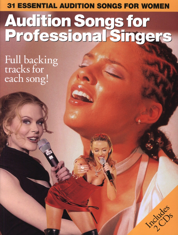 Audition Songs For Professional Singers Volume 2 Pvg Bk/Cd