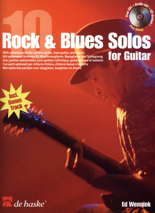 Wennink Ed: 10 Rock + Blues Solos
