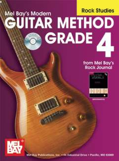 Mel Bay: Modern Guitar Method 4 – Rock Studies