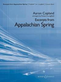 Aaron Copland: Excerpts from Appalachian Spring