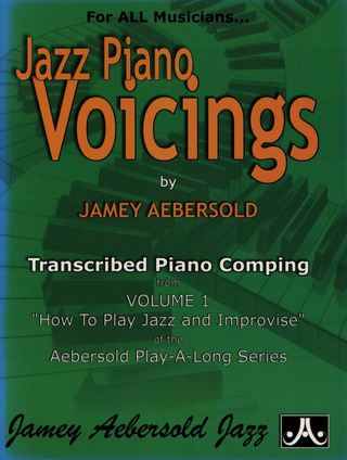 Jamey Aebersold: Jazz Piano Voicings