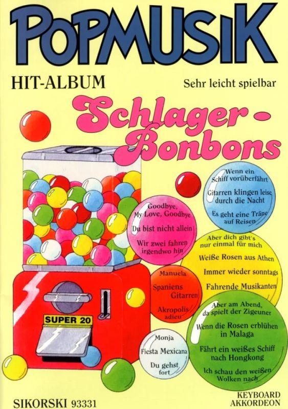 Pop Musik Hit Album Super 20 Deutsch 1 Noten für Akkordeon oder Keyboard leicht