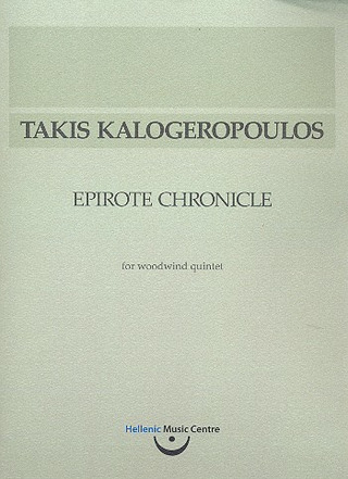 Takis Kalogeropoulos: Epirote Chronicle