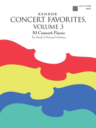 Kendor Concert Favorites 3