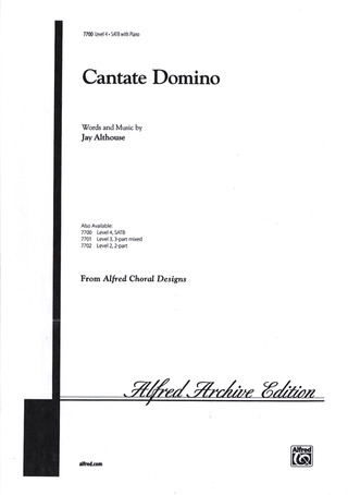 Jay Althouse: Cantate Domino