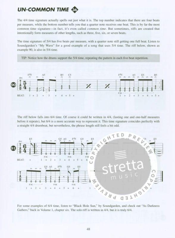 Metal Rhythm Guitar Volume 2 Gtr Tab Book/Cd from Troy