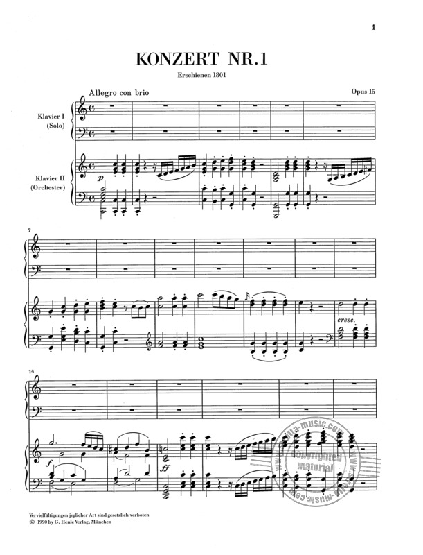 Klavierkonzert Beethoven
