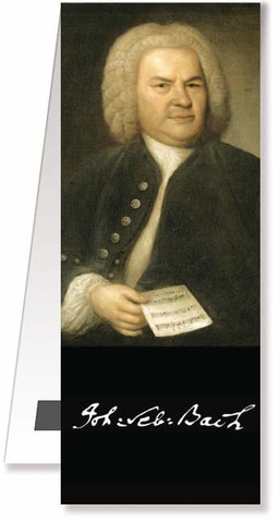 Bookmark magnetic - Bach Portrait