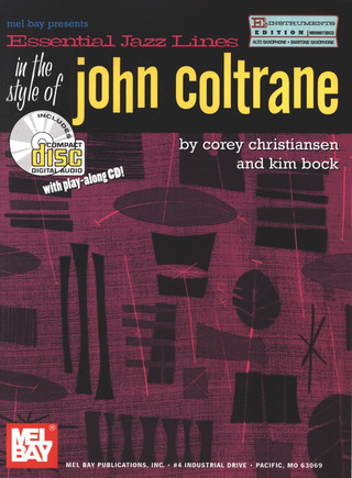 John Coltrane: Essential Jazz Lines In The Style Of John Coltrane