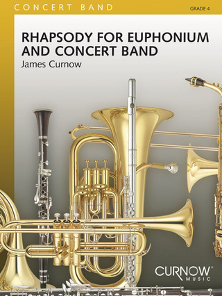 James Curnow: Rhapsody for Euphonium and Concert Band
