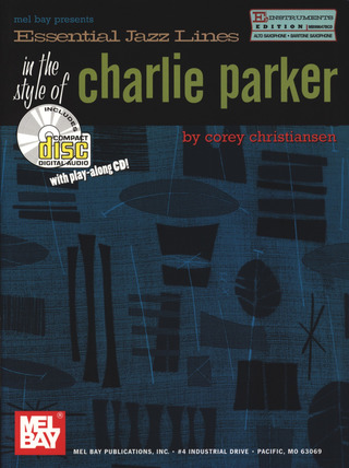Corey Christiansen: Essential Jazz Lines In The Style Of Charlie Parker