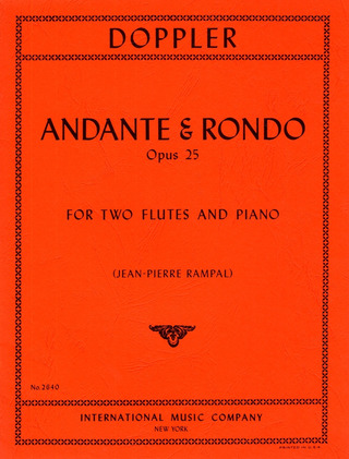 Franz Doppler: Andante and Rondo op. 25