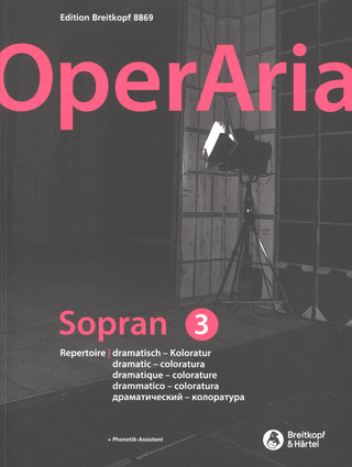 OperAria 3– Soprano (dramatic-colorature)