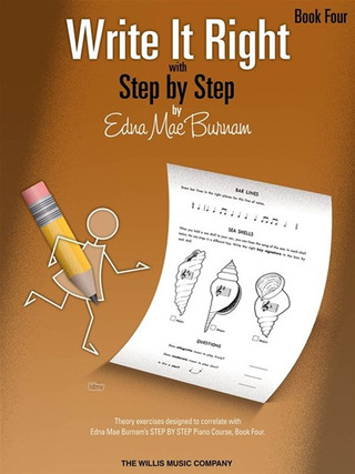 Edna Mae Burnam: Edna Mae Burnam: Write It Right With Step By Step - Book 4
