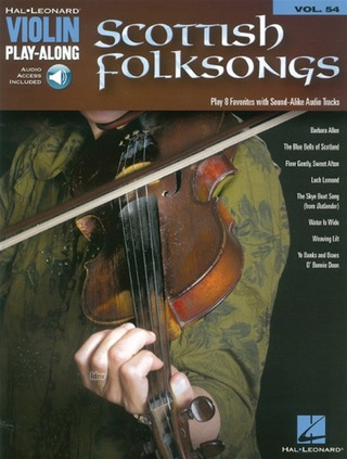 Violin Play-Along Volume 54: Scottish Folksongs (Book/Online Audio)
