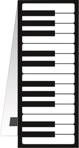Bookmark magnetic - Keyboard