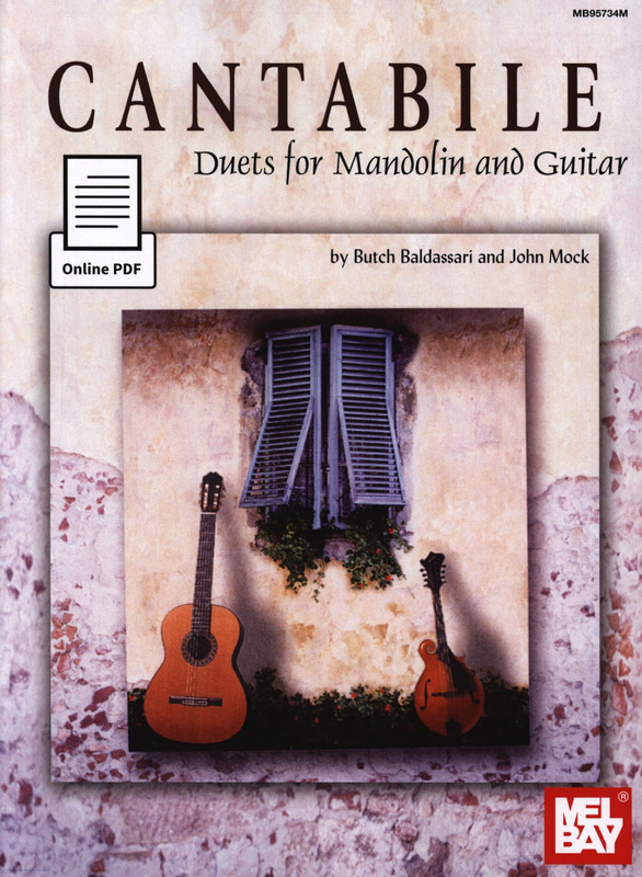 Baldassari Butch + Mock John: Cantabile - Duets For Mandolin + Guitar
