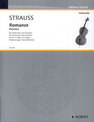 Richard Strauss: Romanze  F-Dur op. AV. 75 (1883)