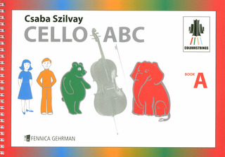 Csaba Szilvay: Cello ABC Book A