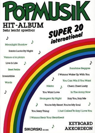 Popmusik Hit-Album Super 20: International 1