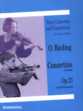Oskar Rieding: Concertino in A minor op. 21