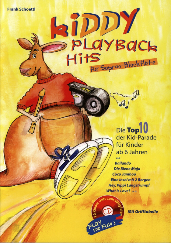Schoettl Frank: Kiddy Playback Hits 1 - Top 10 Der Kid Parade