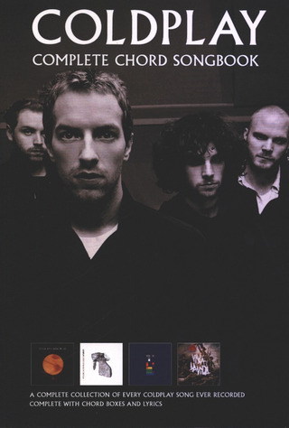 Coldplay: Coldplay: Complete Chord Songbook