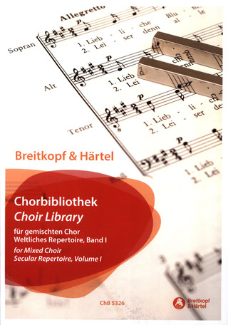 Choir Library – Secular Repertoire 1