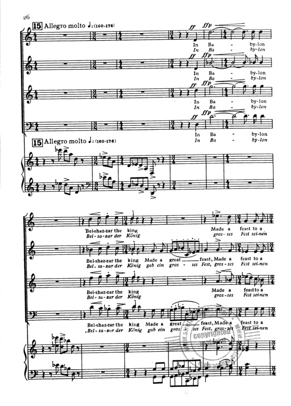 William Walton: Belshazzar's Feast (2)
