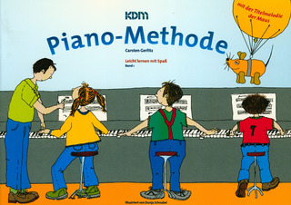 Carsten Gerlitz: KDM Piano-Methode 1