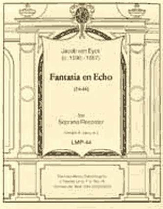 Jacob van Eyck: Fantasia En Echo