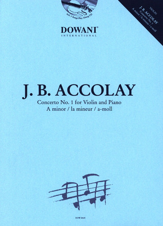 Jean-Baptiste Accolay: Konzert Nr. 1 in a-Moll