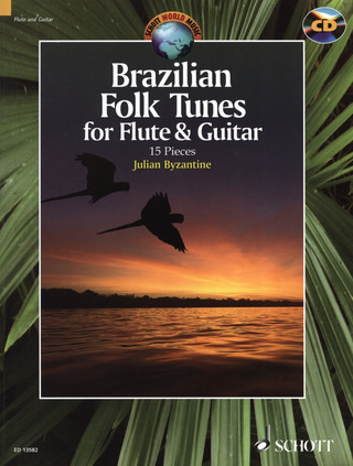 Brazilian Folk Tunes for Flute & Guitar