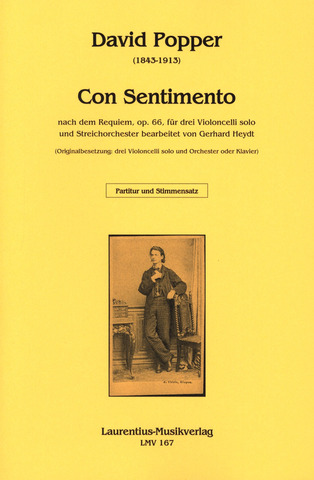 David Popper: Con Sentimento nach dem Requiem op. 66