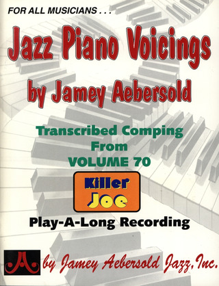 Jamey Aebersold: Jazz Piano Voicings Aus Bd 70
