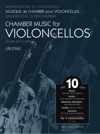 Chamber Music for Violoncellos 10