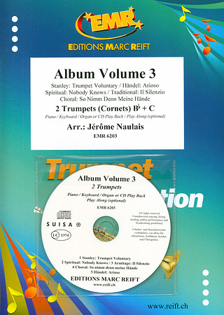 Jérôme Naulais: Album Volume 3 + CD