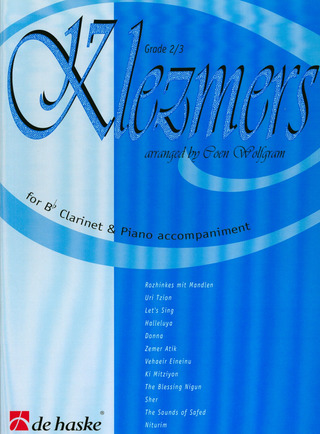 Klezmers for Bb Clarinet & Piano