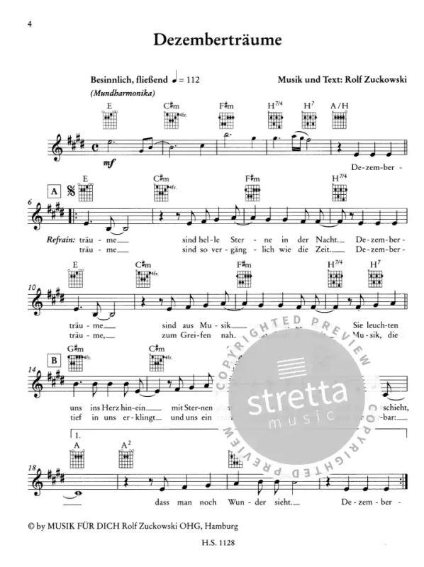 Glockenspiel Weihnachtslieder Noten Kostenlos.Dezemberträume Von Rolf Zuckowski Im Stretta Noten Shop Kaufen
