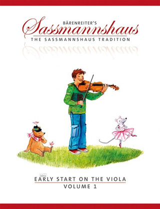 Egon Saßmannshaus: Early Start on the Viola, Volume 1