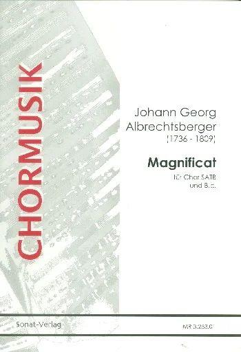 Magnificat Anima Mea Dominum von Johann Georg ...