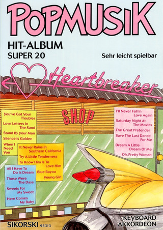 Popmusik Hit-Album Super 20: Heartbreaker