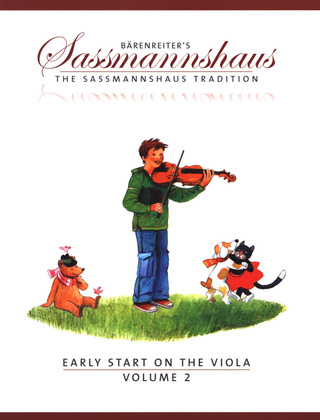 Egon Saßmannshaus: Early Start on the Viola, Volume 2